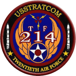 USSTRATCOM 214 Twentieth Air Force Customer to STS