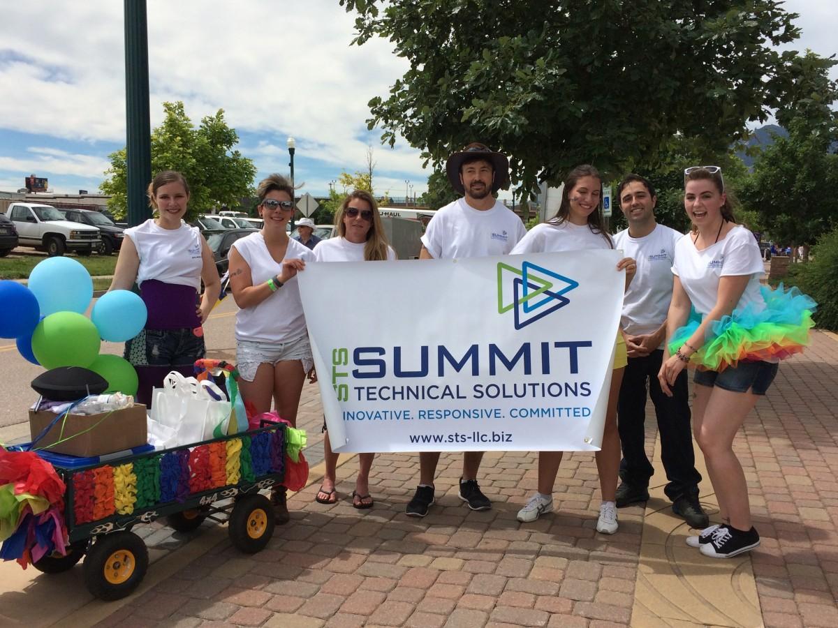 STS Volunteers at PRIDE