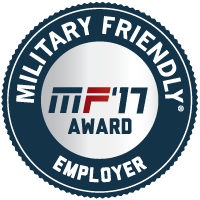 STS has been name to the 2017 Military Friendly Employers list