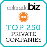 STS is a Top 250 Private Company as ranked by coloradoBIZ