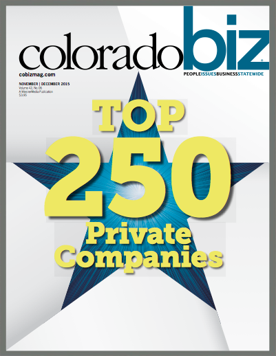 STS Named #77 on Colorado Biz Top 250 Private Companies