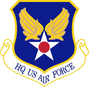 Star with wings seal for the USAF