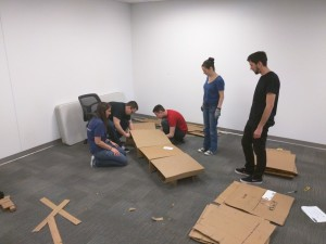 2016 - Cardboard Bed Build - Building Beds for the ...