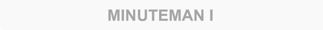 Inactive - Minuteman