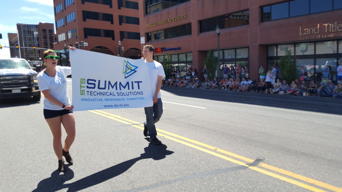 Summit Technical Solution Supports Diversity at the colorado springs pride