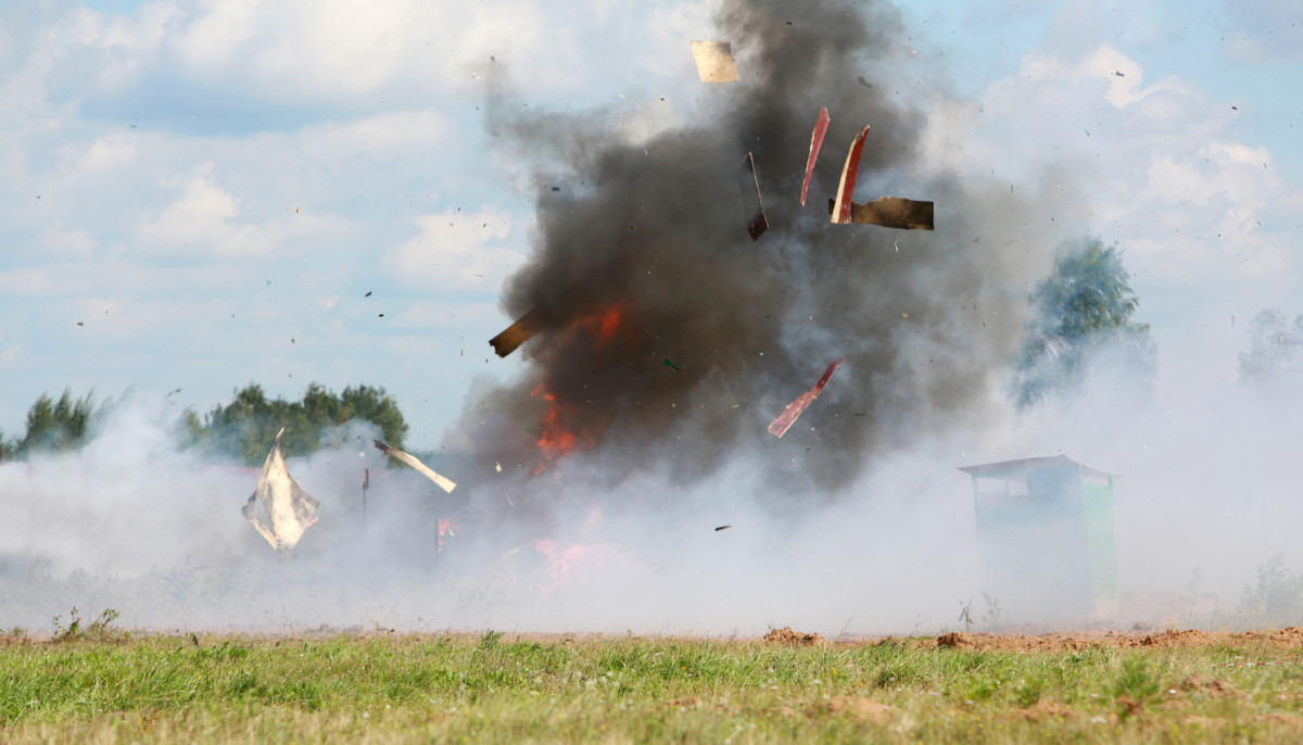 STS provides our government customers test and evaluation services of live fire exercises. and operations and maintenance of test ranges and equipment.