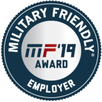 Military Friendly Employer 2019 Designation
