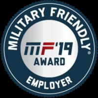 Military Friendly Employer 2019 Designation